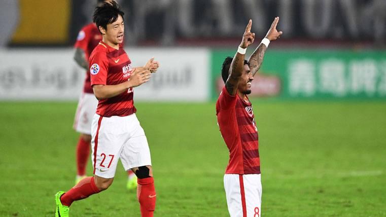 Razón de peso del Guangzhou para no traspasar a Paulinho
