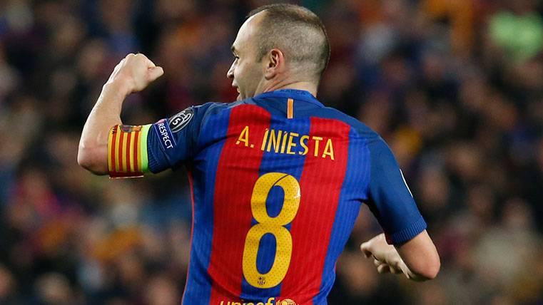 """Andrés Iniesta: """"Me quiero retirar en el FC Barcelona"""""""