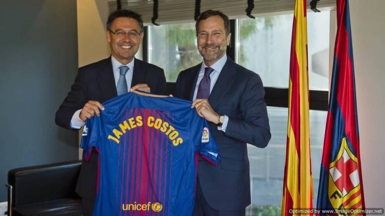 James Costos, nuevo asesor estratégico del Barça