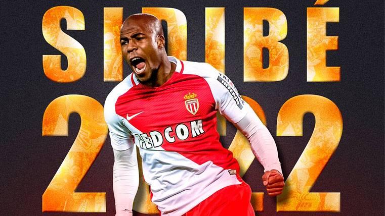 El Barça, sin alternativas: Sidibé renueva con el Mónaco