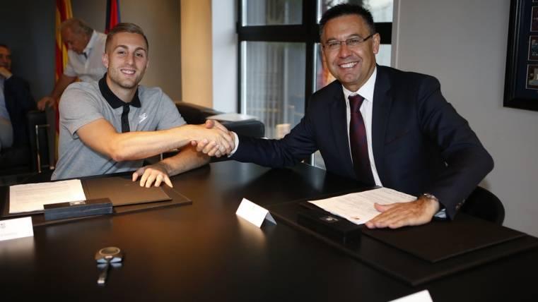 """""""Llevo en el Barça desde los 9 años. Quiero triunfar aquí"""""""