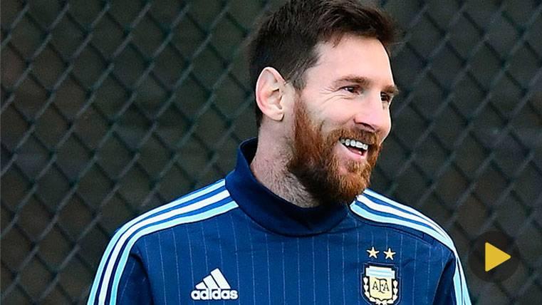 VIRAL: Leo Messi, ¡un crack también en baloncesto!