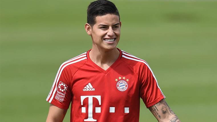 James Rodríguez, un éxito a su llegada al Bayern de Múnich