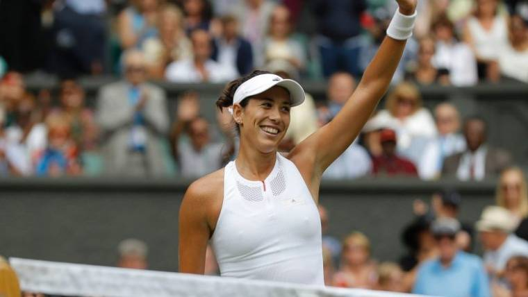 Garbiñe Muguruza, una culé que triunfa en Wimbledon