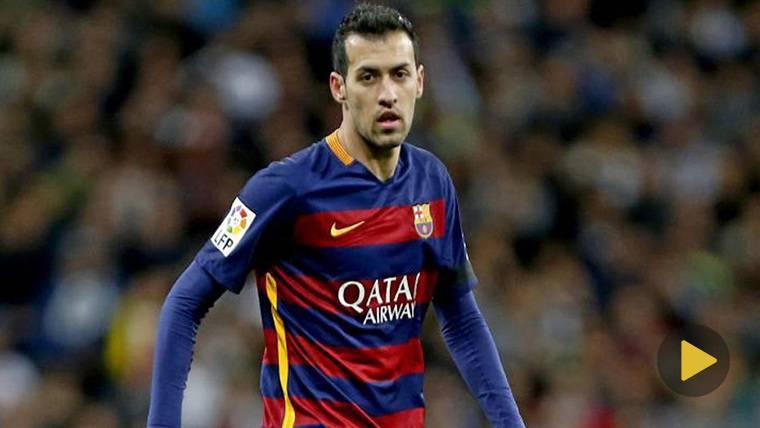 El FC Barcelona felicita a Busquets por su 29º aniversario