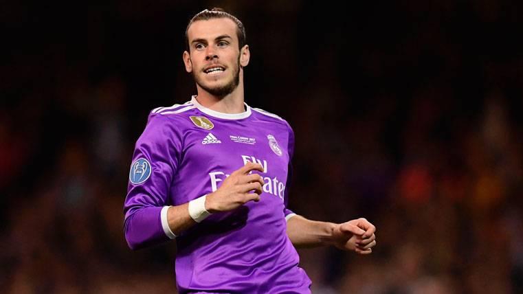 Gareth Bale, durante un partido con el Real Madrid la pasada temporada