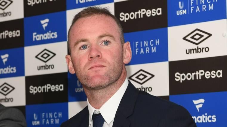 Wayne Rooney presentado con el Everton