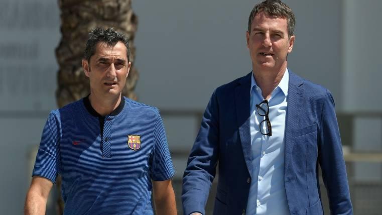 Valverde y Robert Fernández