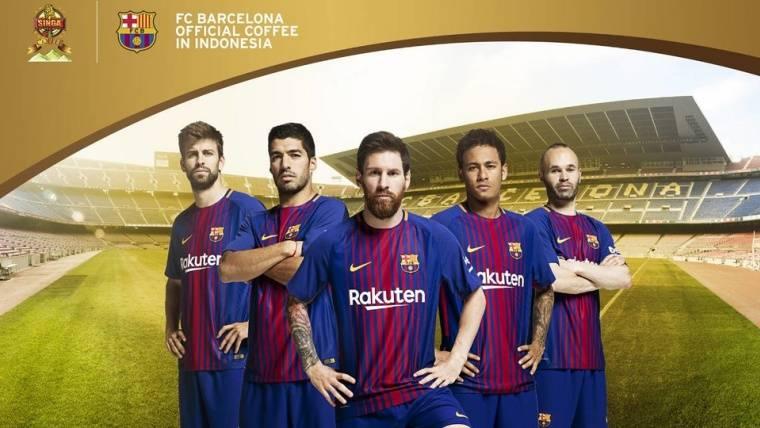 Kopi Singa, nuevo patrocinador regional del Barça