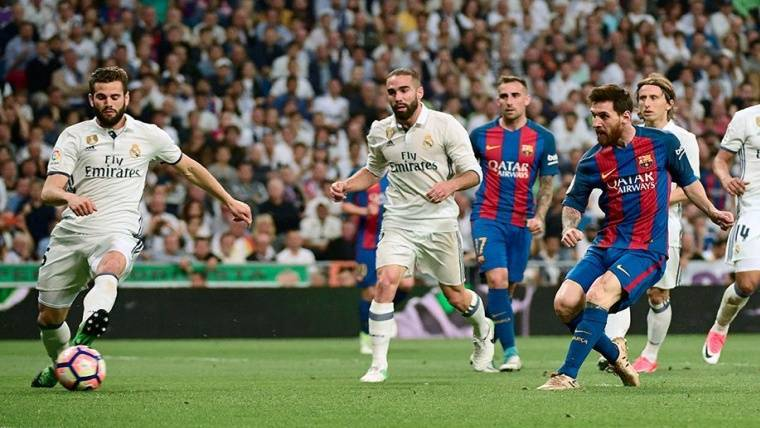 Diez minutos de Leo Messi contra el Real Madrid