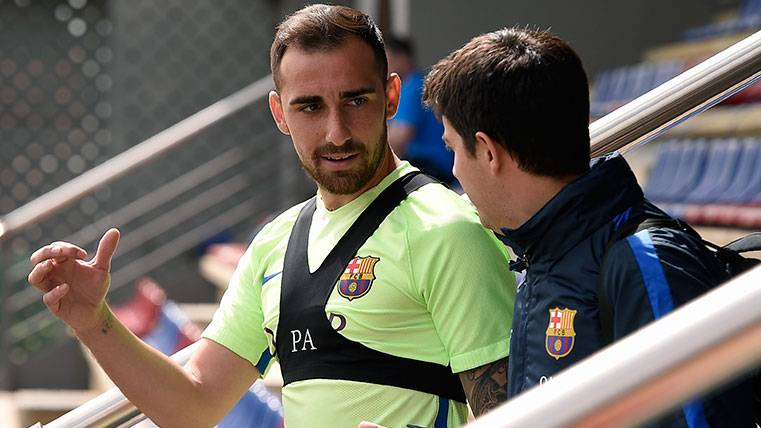 Paco Alcácer busca su confirmación en el FC Barcelona