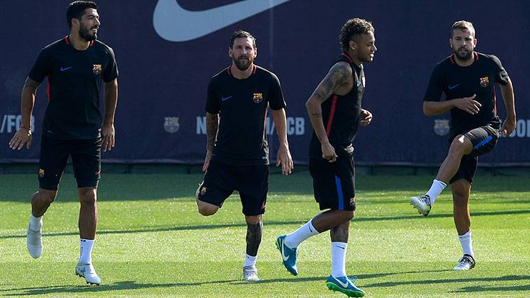 La plantilla del Barça se pica, ¿quién será el máximo goleador?