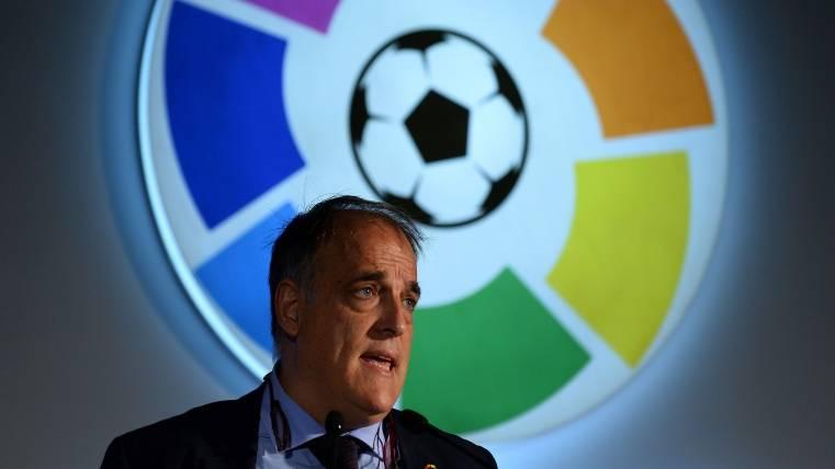 """Tebas: """"Veremos si Villar acaba dimitiendo o no"""""""