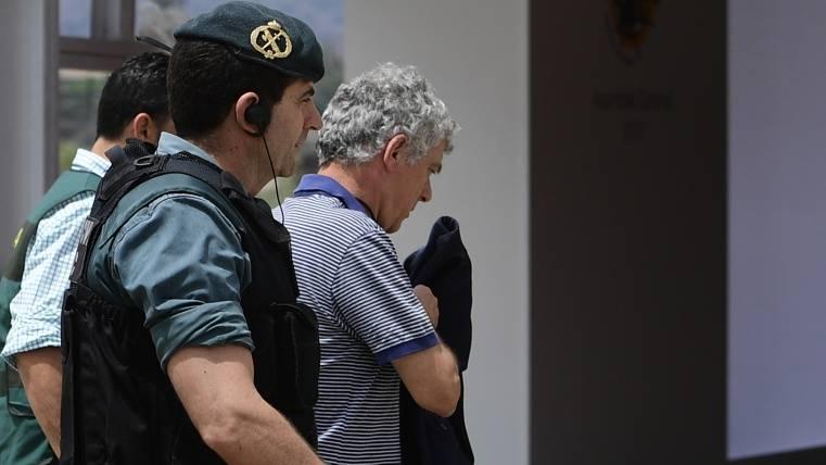 La Fiscalía pide prisión provisional para Villar y su hijo