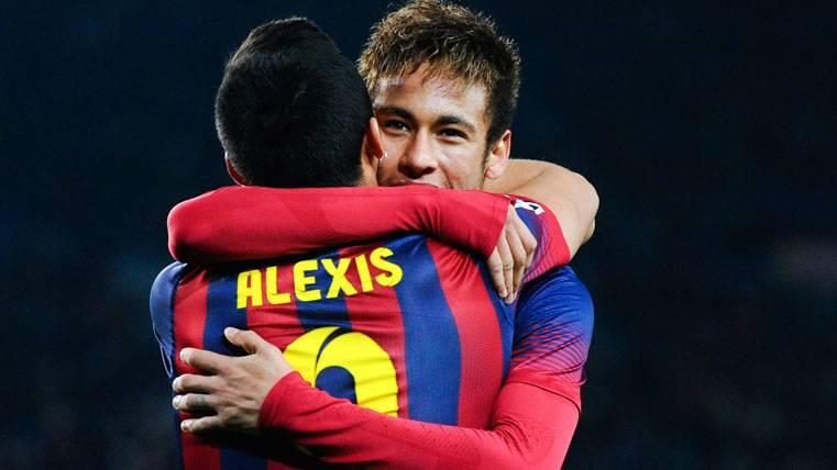 El PSG está más cerca de fichar a Alexis que a Neymar