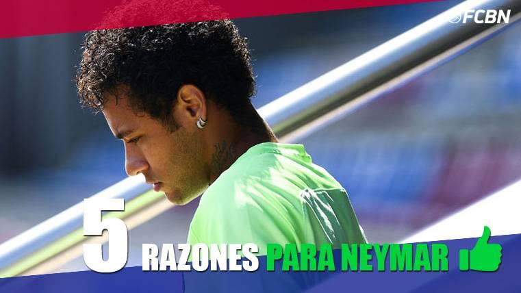 Cinco motivos para que Neymar no deje el FC Barcelona