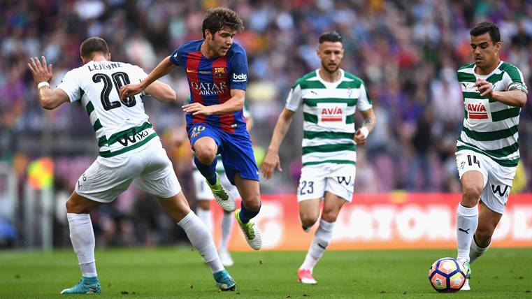 Sergi Roberto puede ser el nuevo Iniesta del FC Barcelona