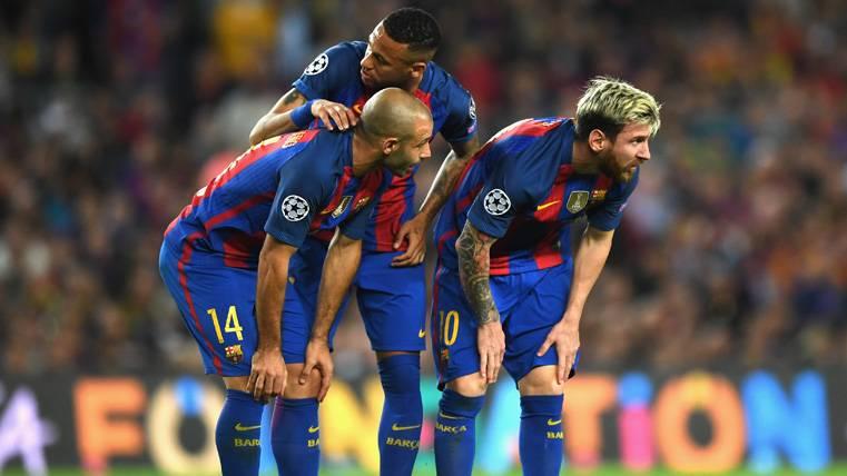 """Mascherano pone orden: """"Neymar es el futuro del Barça"""""""
