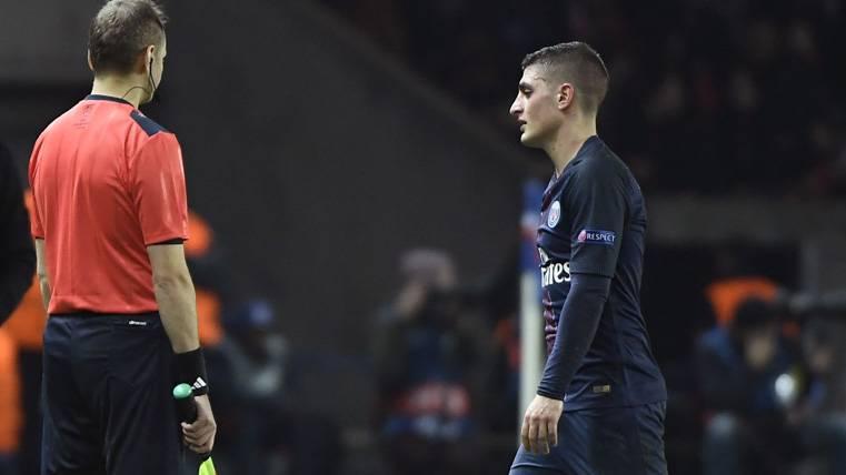 Verratti no jugó este sábado... ¿Sigue al acecho el Barça?