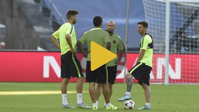 VIRAL: Leo Messi se marca 'un Boateng' con Mascherano