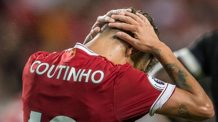 Apuesta final del Barça por Coutinho: Se habla de 90 'kilos'