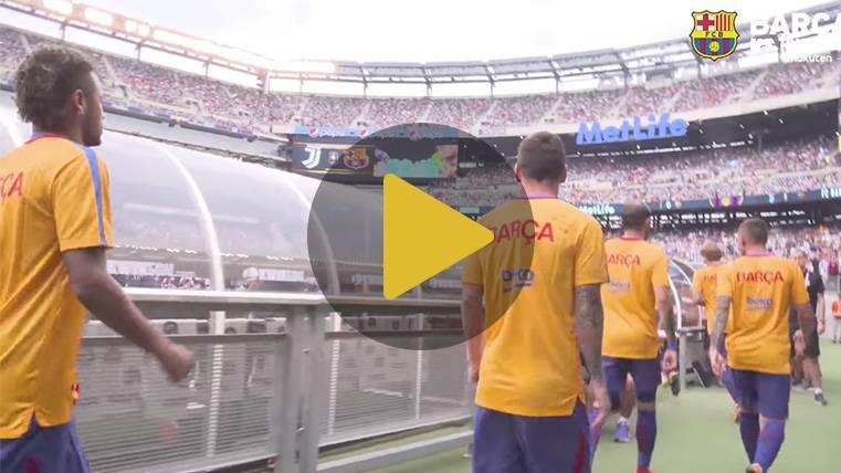Una locura: lo que no se vio del Juventus-Barcelona