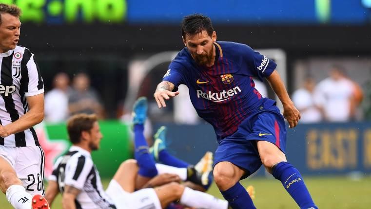Leo Messi ha vuelto de vacaciones como una moto
