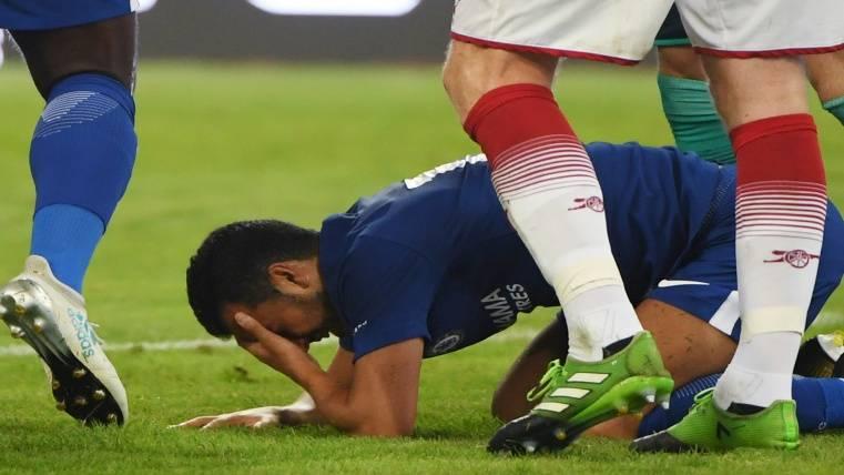 Pedro Rodríguez tiene múltiples fracturas en su rostro