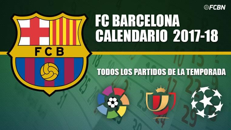 Calendario FC Barcelona 2017-18