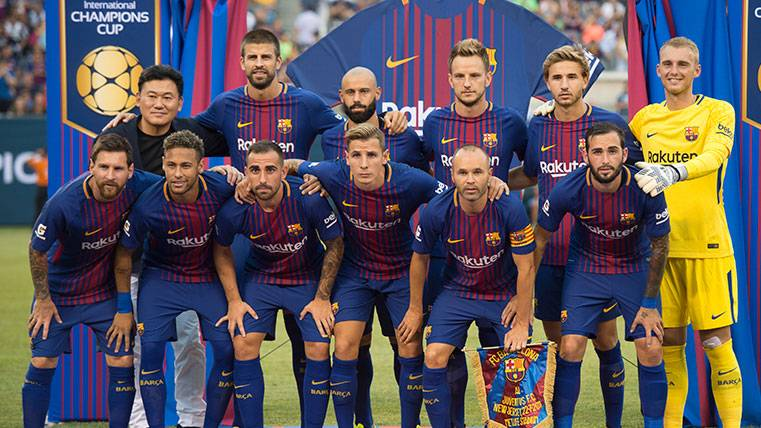 El Barça consigue un récord de ingresos con la gira americana