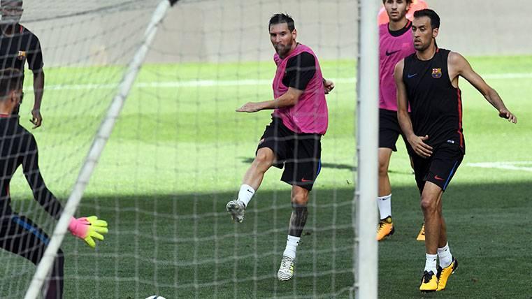 La preparación física, una obsesión del nuevo Barça