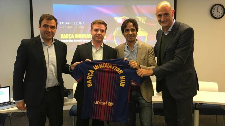 Conferencia conjunta entre el Barça Innovation Hub y el MIT
