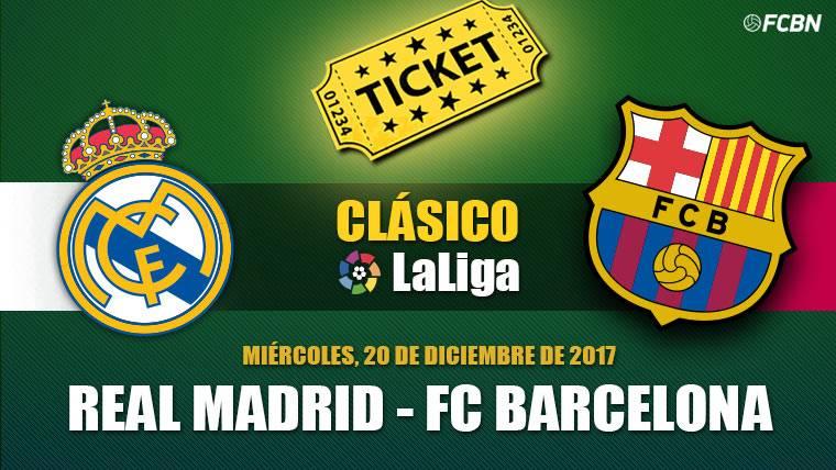 Entradas Real Madrid vs FC Barcelona - El Clásico
