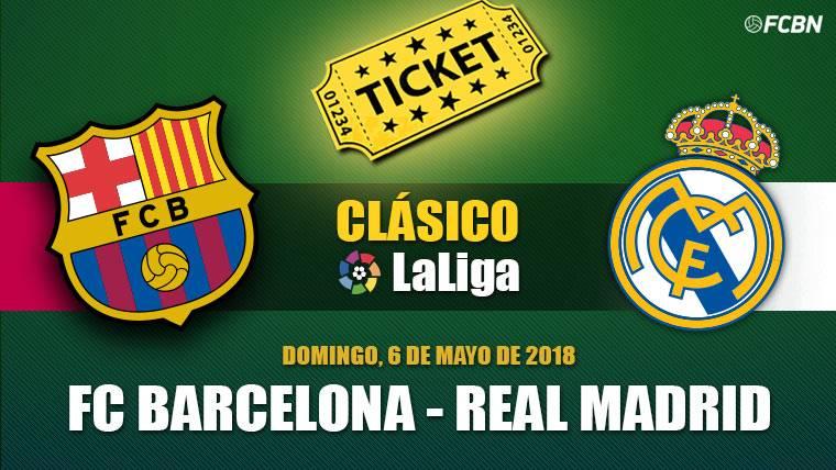 Entradas FC Barcelona vs Real Madrid - Liga