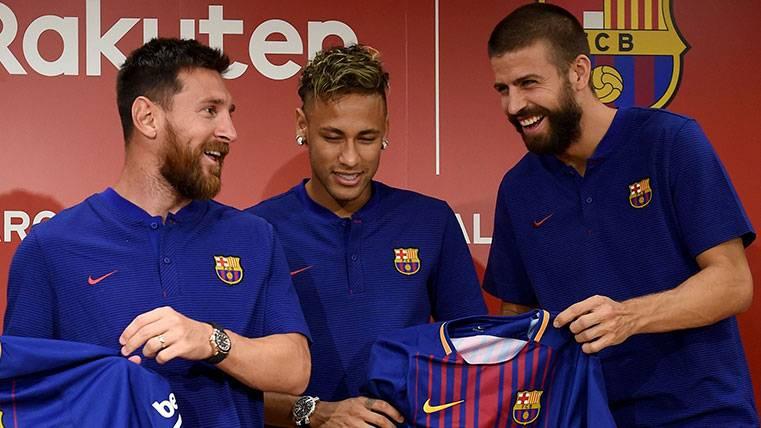 """Piqué: """"Fue por sensaciones, pero si se queda lo dirá Neymar"""""""