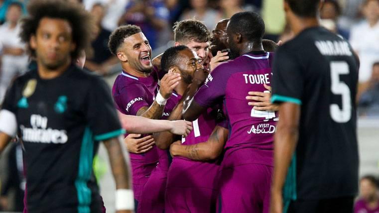 Preocupante goleada del Manchester City al Madrid (4-1)