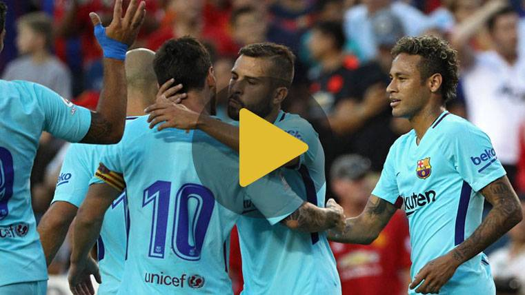 Vídeo resumen: Barcelona 1 Manchester United 0