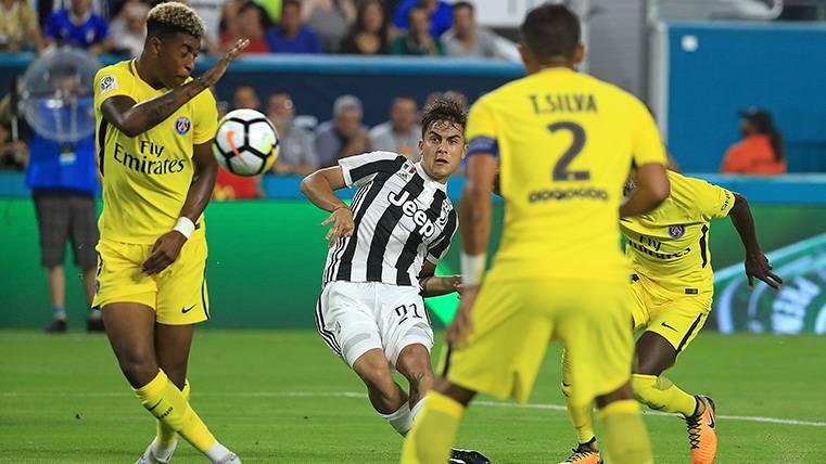 La Juventus se pone a la defensiva con Paulo Dybala