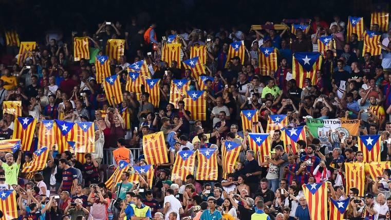 Un juez de Madrid avala las esteladas en la final de Copa