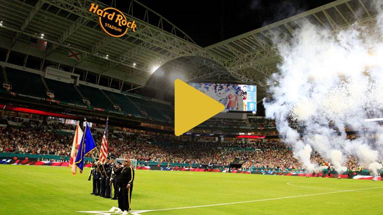 El Clásico de Miami, una 'Super Bowl' a merced del espectáculo