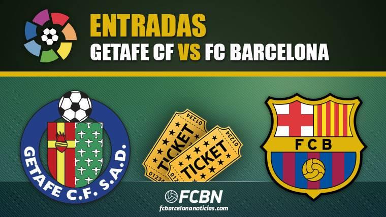 Entradas Getafe vs FC Barcelona