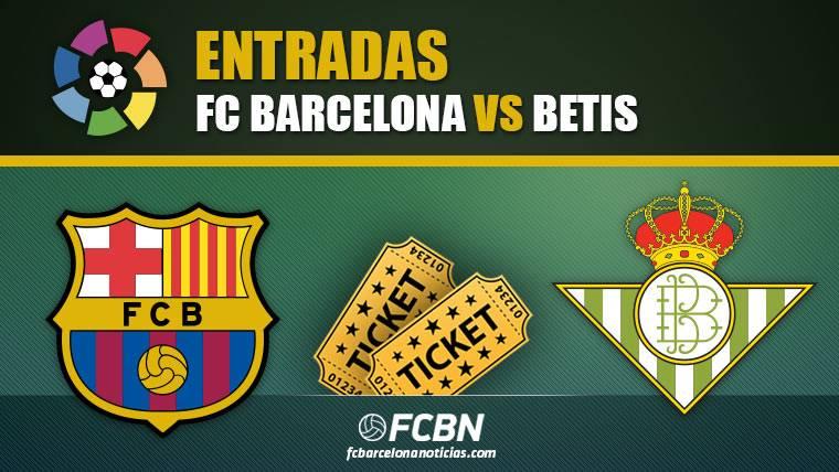 Entradas FC Barcelona vs Betis