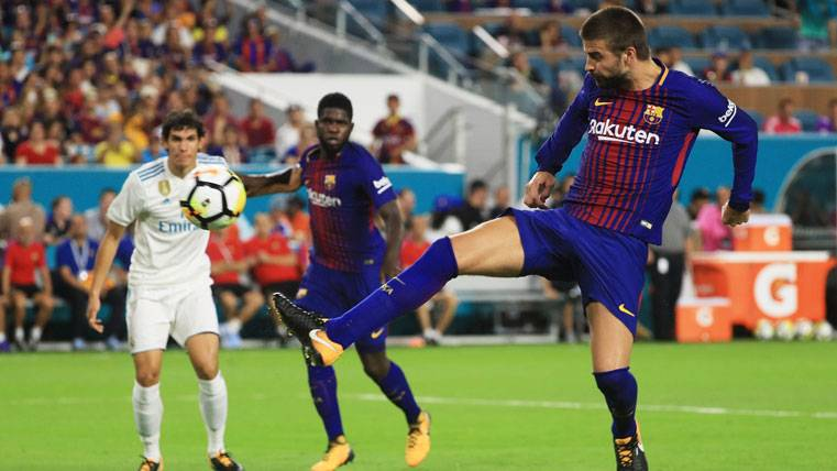 MORBO: Gerard Piqué volvió a marcar contra el Real Madrid