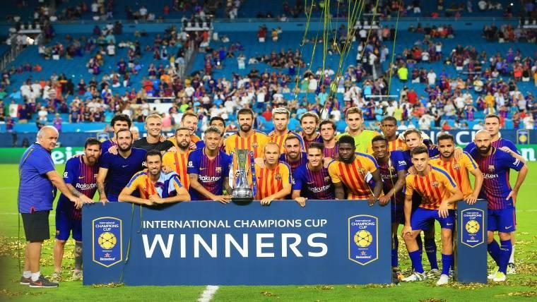 El Barça, campeón de la ICC... ¡Y el Madrid termina último!