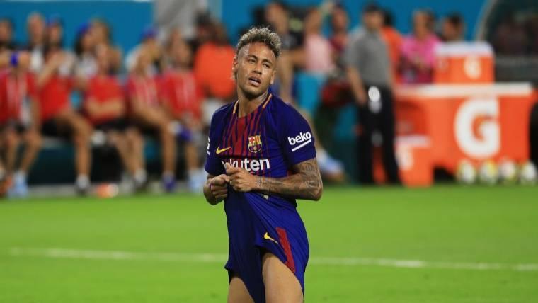 """""""Vamos a esperar, Neymar sigue formando parte del Barça"""""""