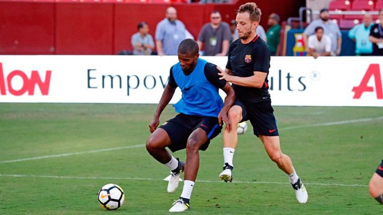 Marlon Santos se cae de las alineaciones del Barça