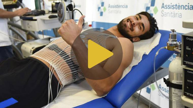 André Gomes y Ter Stegen superan las pruebas médicas