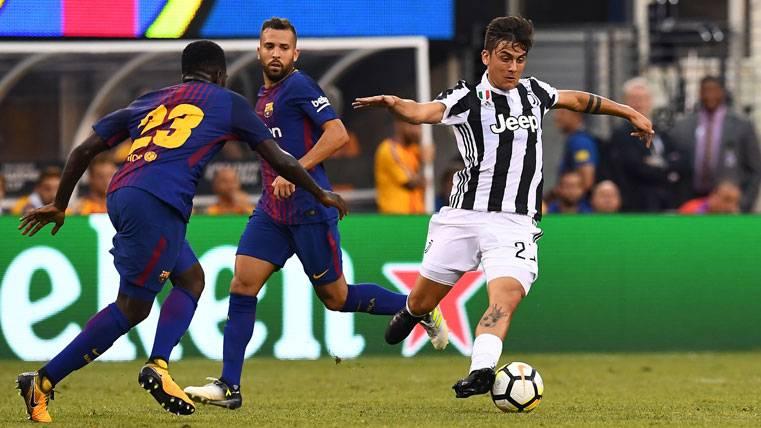 140 'kilos' del Barça por Dybala harán temblar a la Juventus