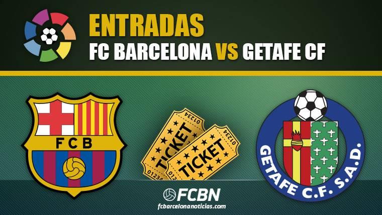 Entradas FC Barcelona vs Getafe