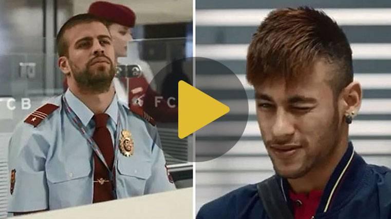 """Piqué, de 'dar el pasaporte' a Neymar al fatídico """"se queda"""""""